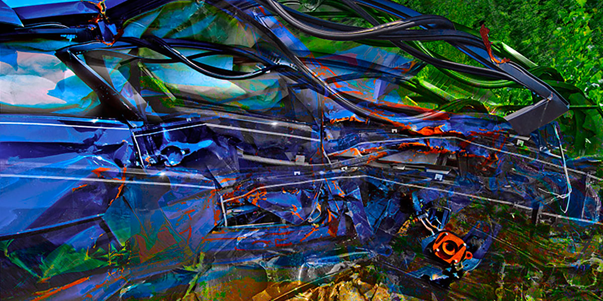 David Phoenix photography using conceptual and abstract imagery in bright saturated color