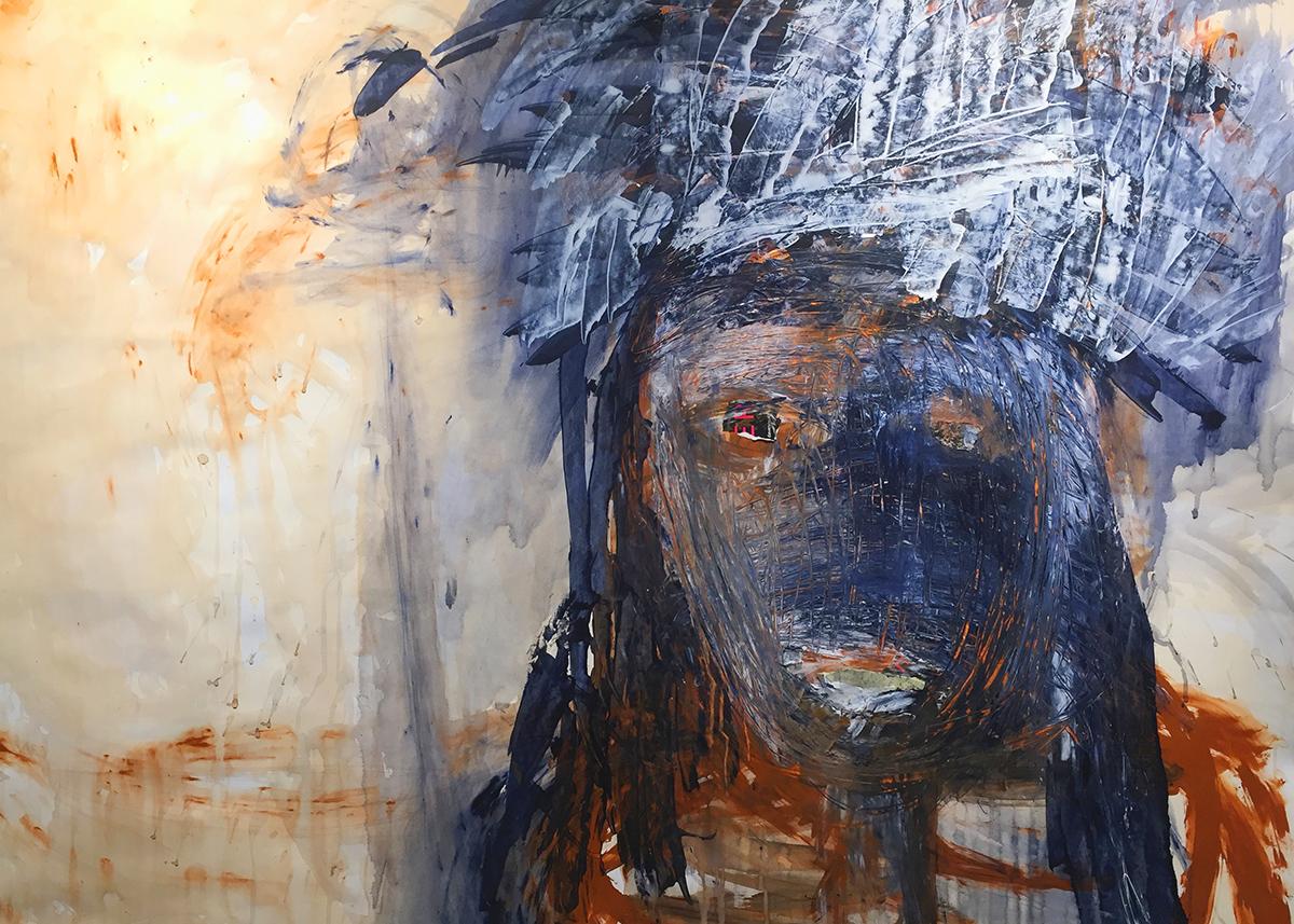 Susan Bazett painting
